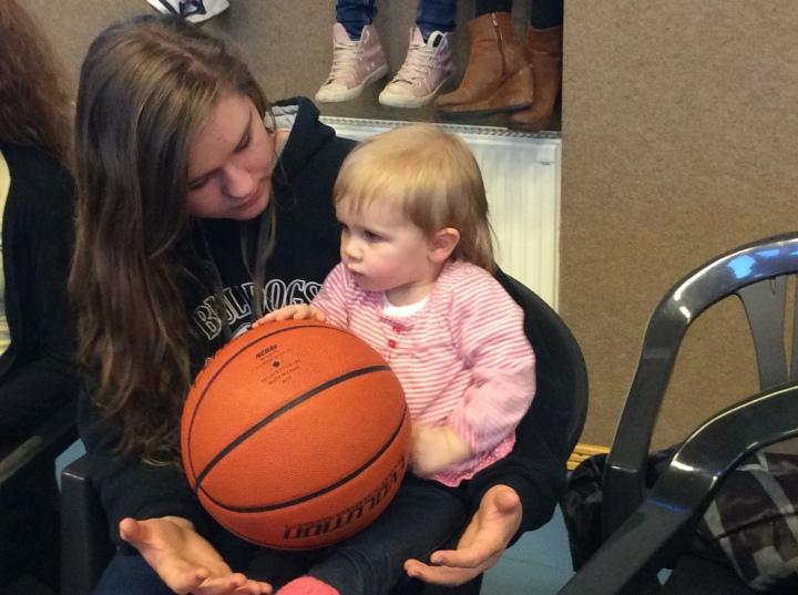 Lydia loves kids!