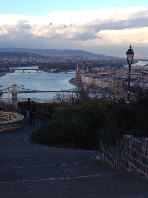 A view from Gellert Hill