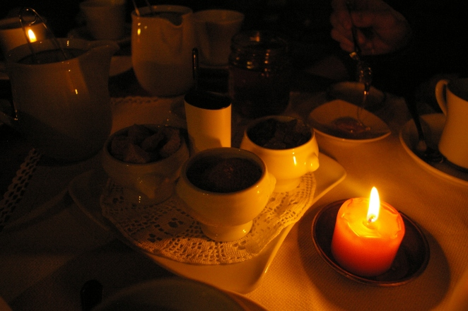 Tea in the evening with friends and that is Europe.