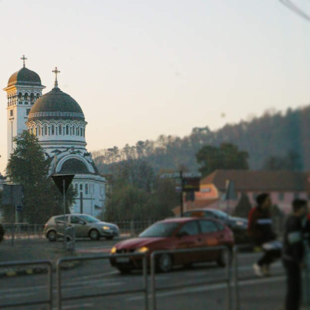The Orthodox church in Sigisoara, Romania. This is home of Dorothy Tarrant, Roberta Bustin,  Jonathan Phillips, the Cristurean family, Veritas, and many more