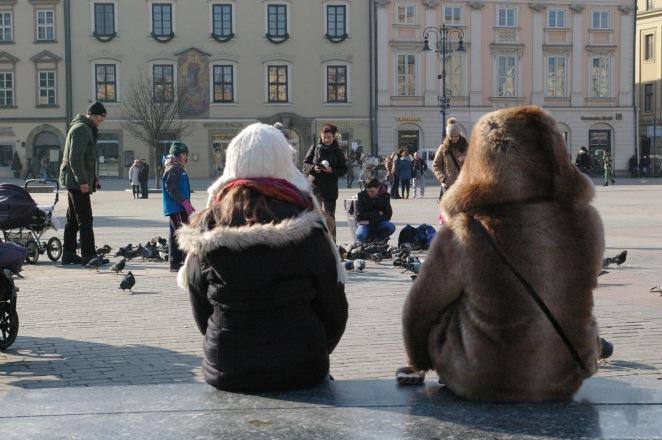 Spending time together. Krakow