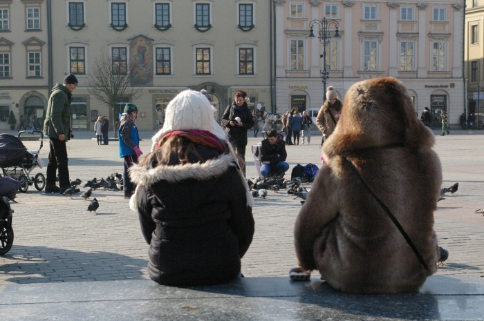 Spending time together. Krakow