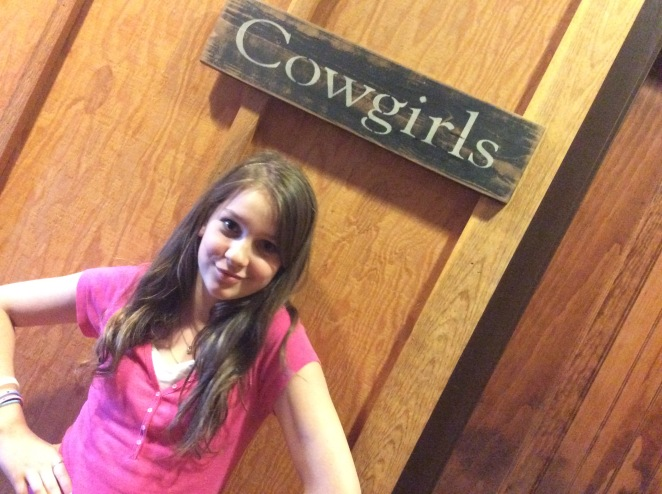 Getting in touch with our inner cowgirl in Hutchinson
