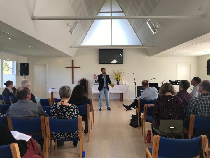 Syrian Refugees Pastor Churches inPoland